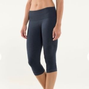 Lululemon flow & go crop leggings-Size 10